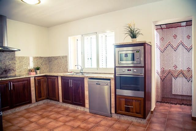 kitchen villa San Jordi Ibiza