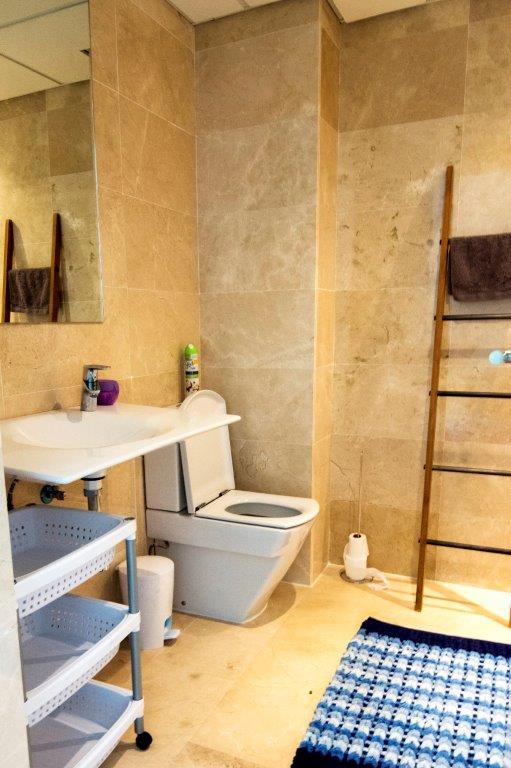 bathroom townhouse duplex rock llisa Ibiza