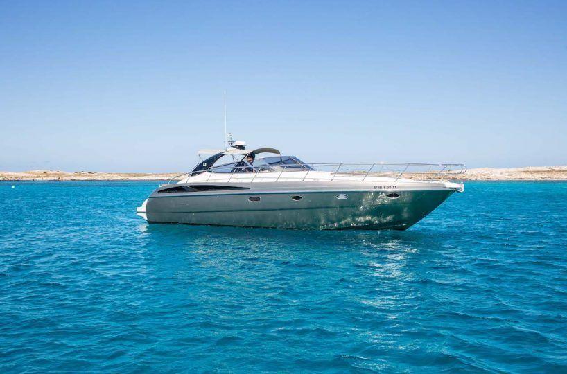 ibiza boat hire Cranchi 50