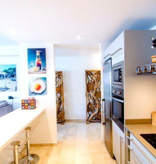 townhouse duplex rock llisa Ibiza
