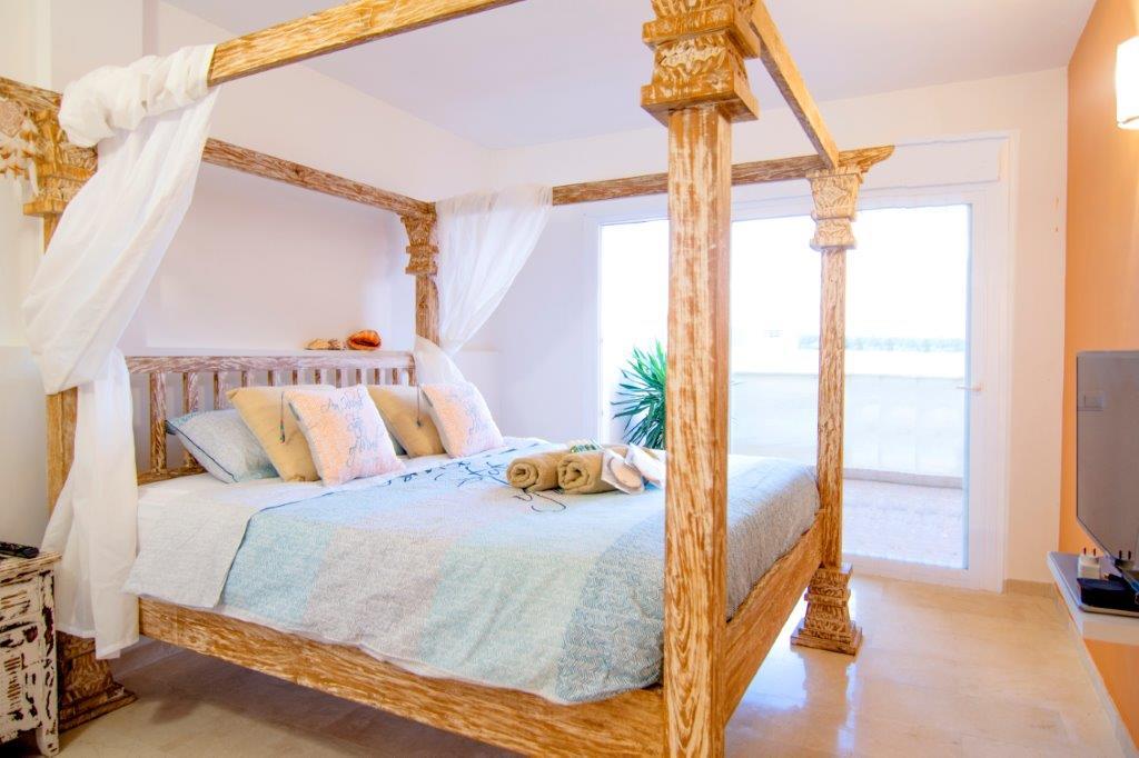 bedroom townhouse duplex rock llisa Ibiza