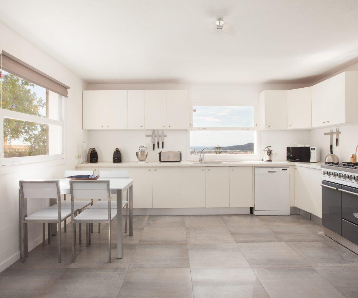 kitchen villa in ibiza