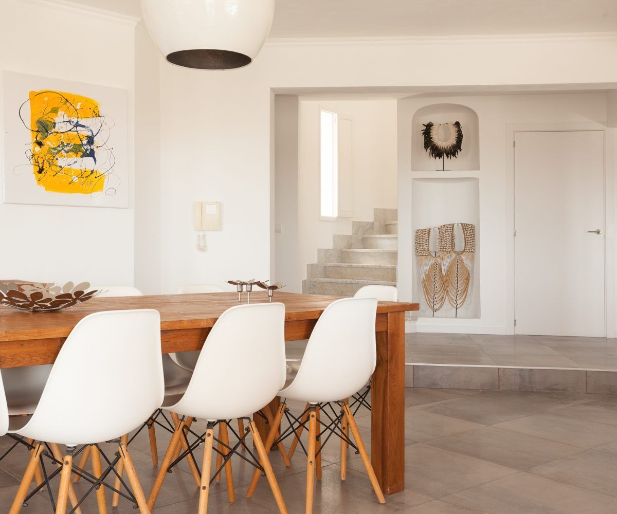 dinning room villa in ibiza