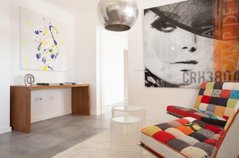 living room villa in ibiza