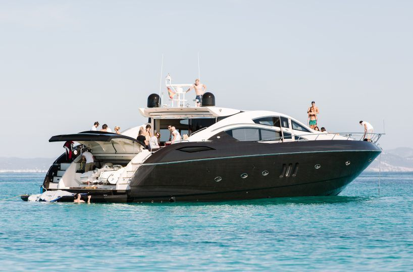 Just-Smile-21-818x540 The most exclusive boats you can rent in Ibiza