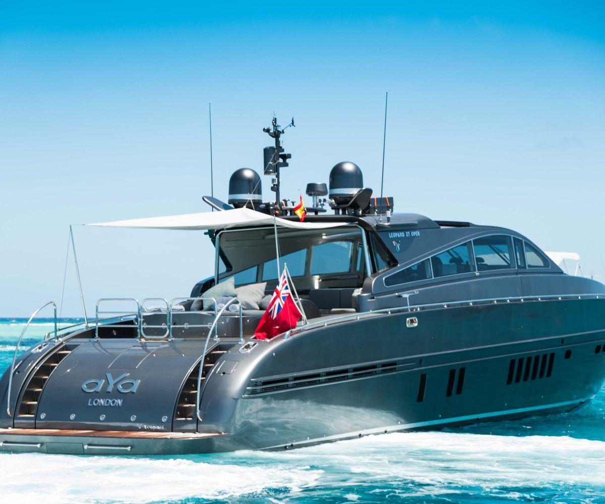 Boat Hire Ibiza | Leopard 90