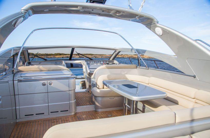 ibiza boat hire Princess V55