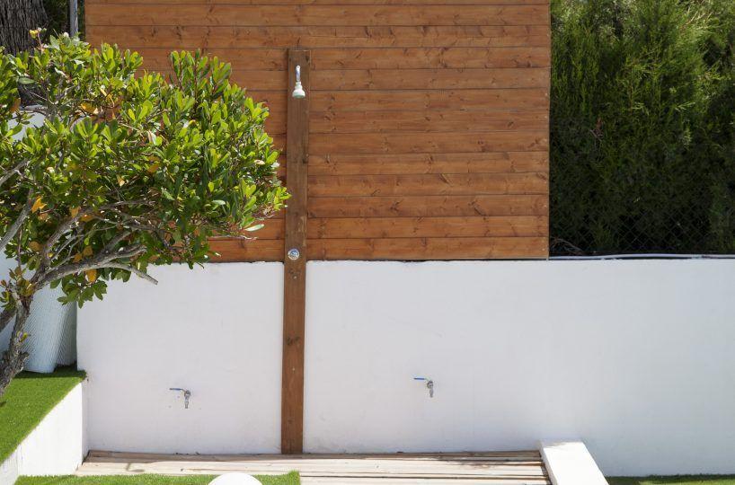 Villa garden in Ibiza