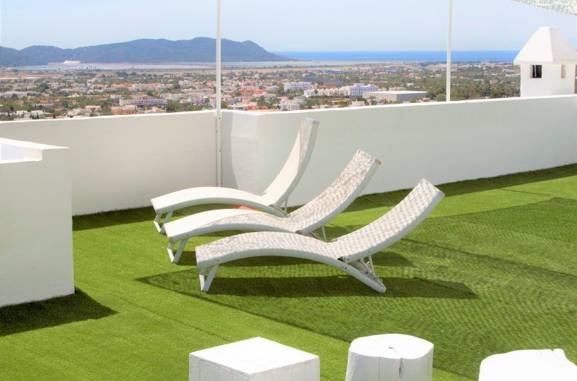 terrace house in ibiza for rent